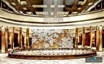 Luxury Hotel Lobby Entrance