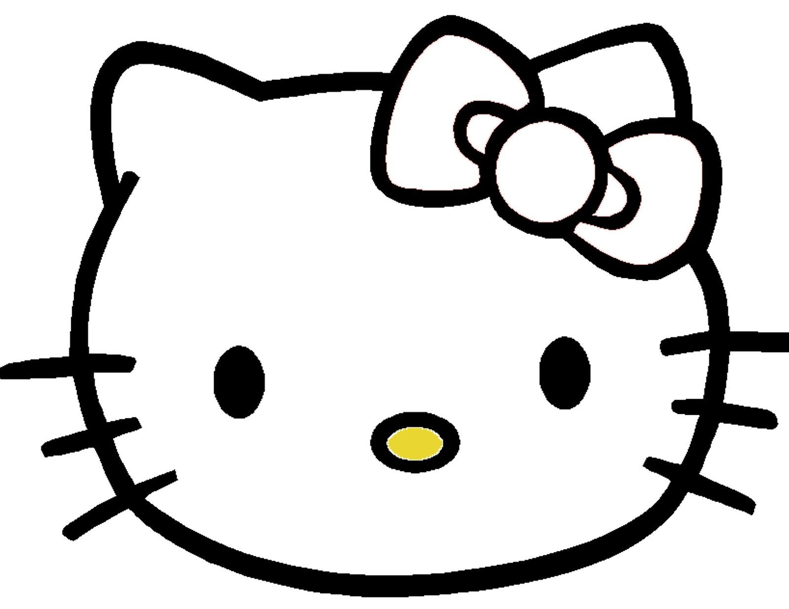 Pin The Bow On Hello Kitty Template