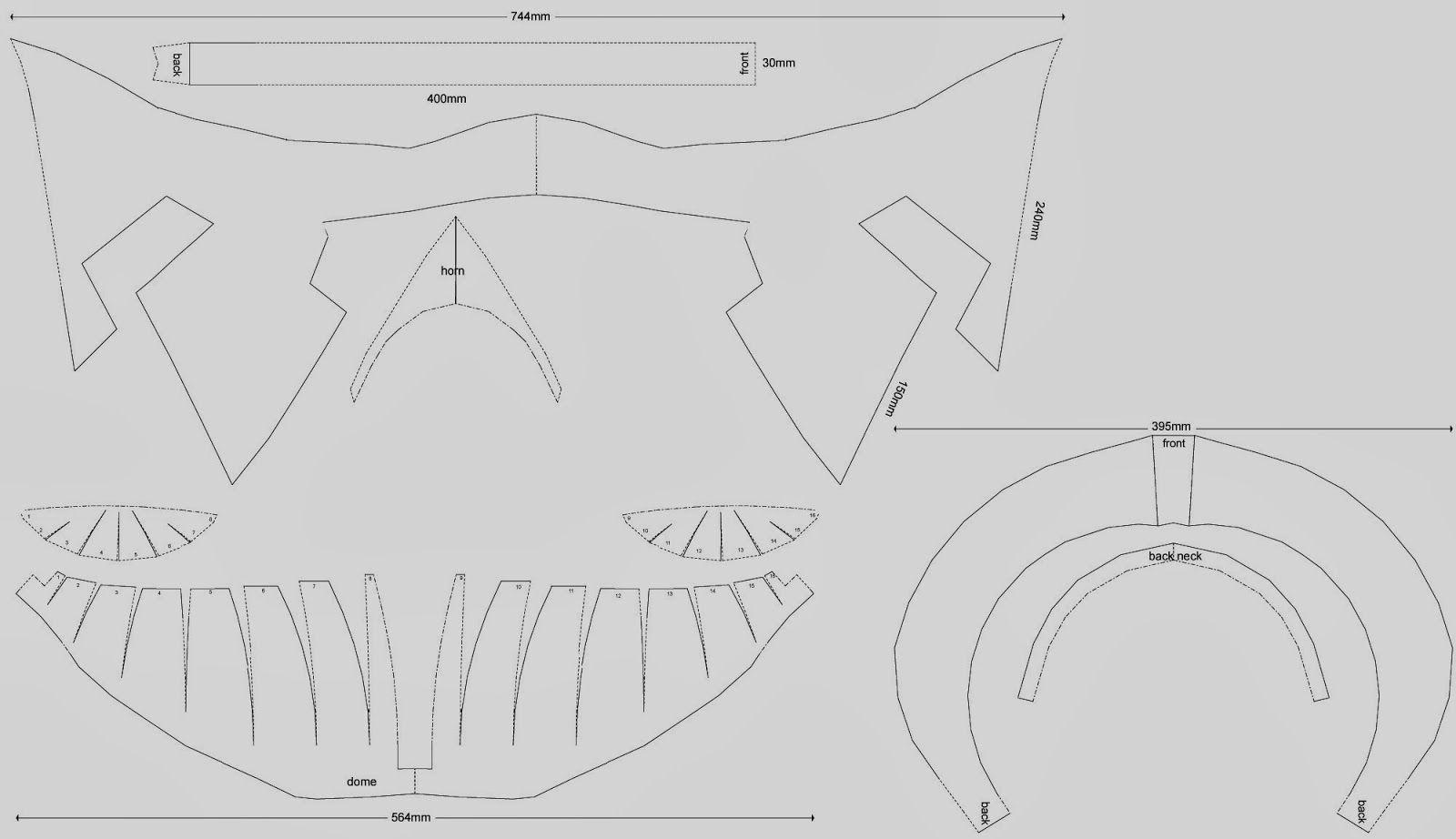 dali-lomo: Spartan 300 King Leonidas Costume Helmet DIY