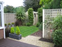 Willow panels with cream painted surround used to clad ...