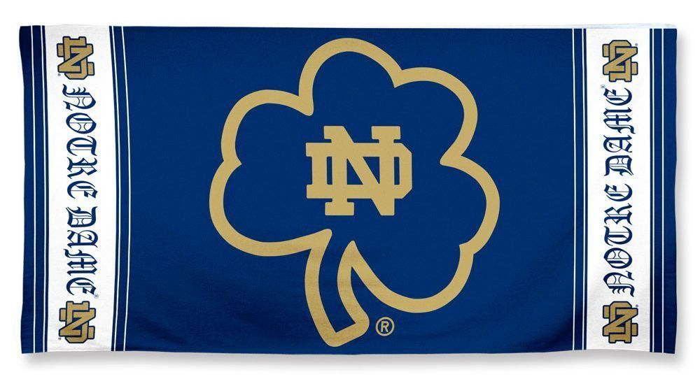 Notre Dame Fighting Irish Beach Towel GOLF BAG CAKE Pinterest