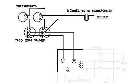 Taco 571 2 Zone Valve Wiring Diagram : 36 Wiring Diagram