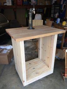 DIY Kegerator Cabinet