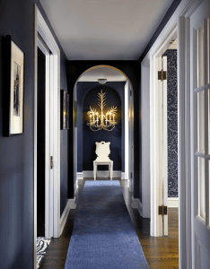 Oh my    black and blue decor also interiors rh pinterest