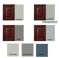 Paint Colors for Cherry Cabinet Kitchen and Combined