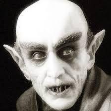 Face of Nosferatu from the 1922 film