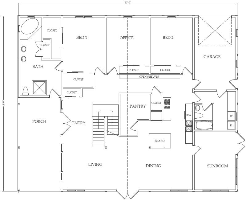 Pole Building House Floor Plans Uncle Howard's Barn Kits