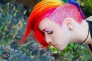 shave rainbow hair- 't