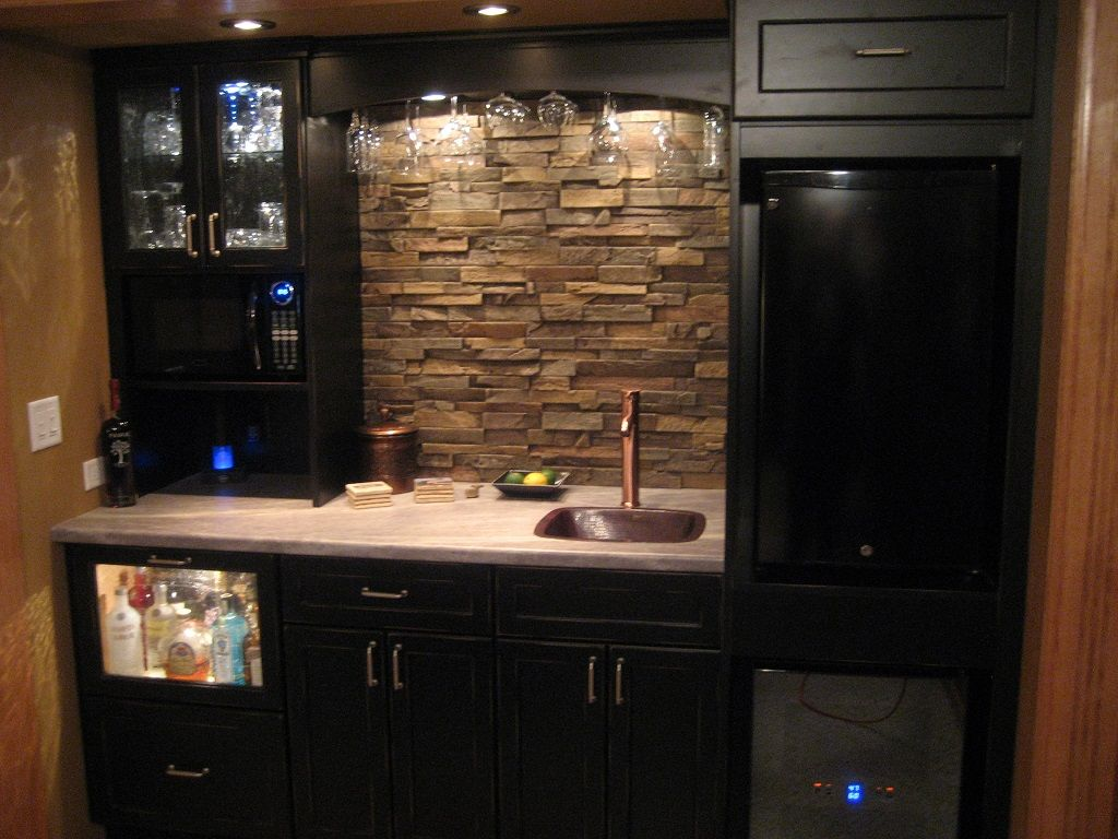 natural stone backsplash kitchen dining small with and black