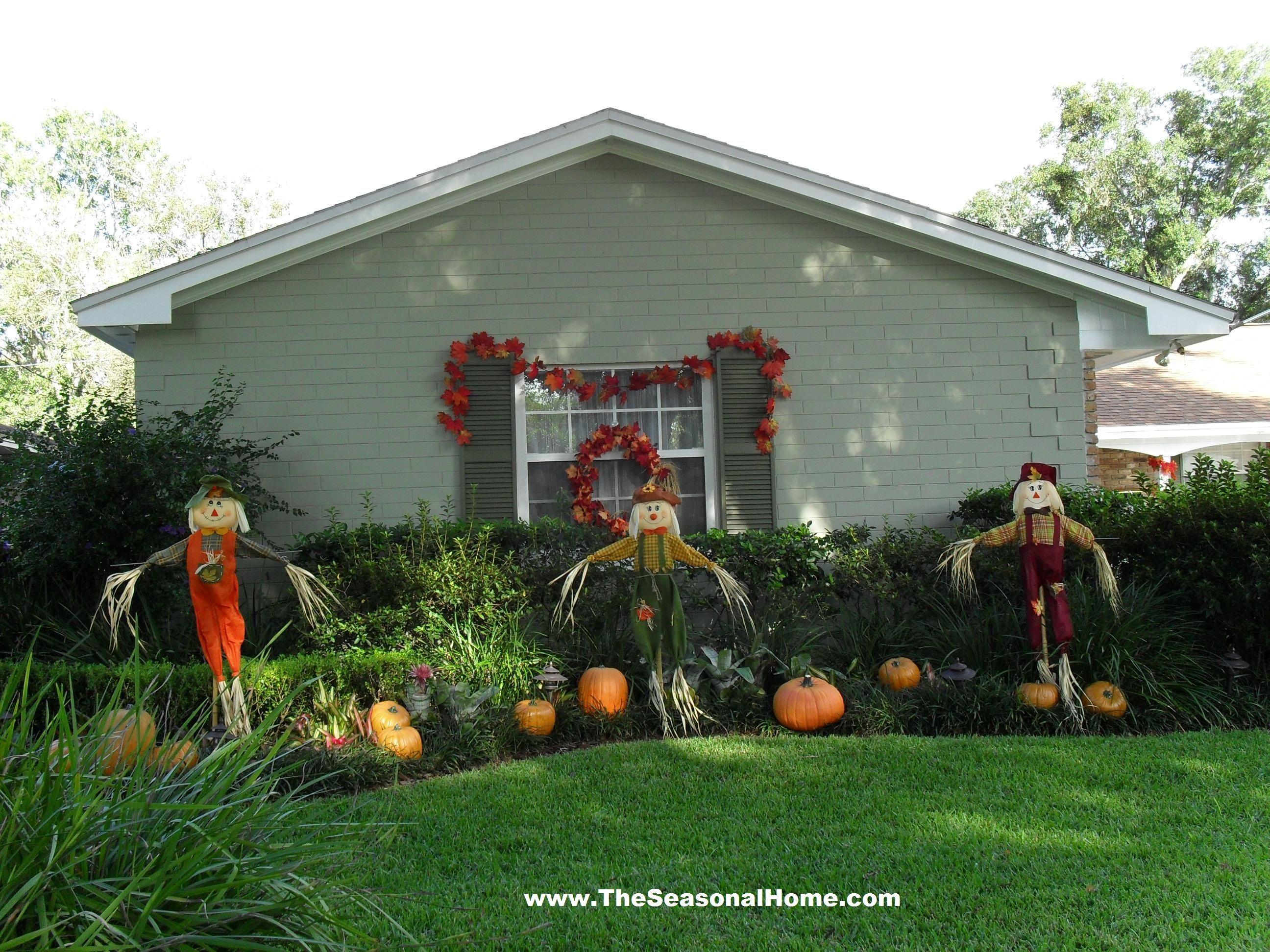 FALL YARD DECORATION IDEAS  The Seasonal Home