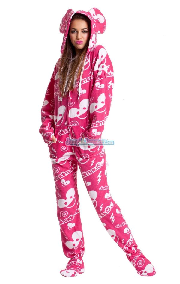 One Piece Adult Pajamas for Women