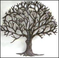 Natural Metal Tree Wall Art Decoration Ideas: Metal Tree ...