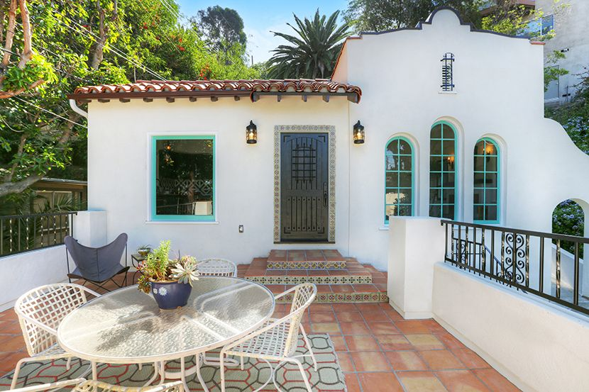 Spanish Revival Los Feliz Franklin Hills Mexican Tile Kenihan