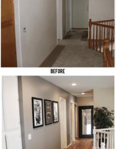 Simple changes make an average house look gorgeous also deco maison rh pinterest