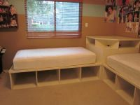 Tween/Teen 2 twin beds & Pottery Barn corner unit | kids ...