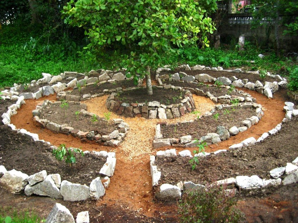 Raised Vegetable Garden Stone Decorating Ideas Cute Picture Of