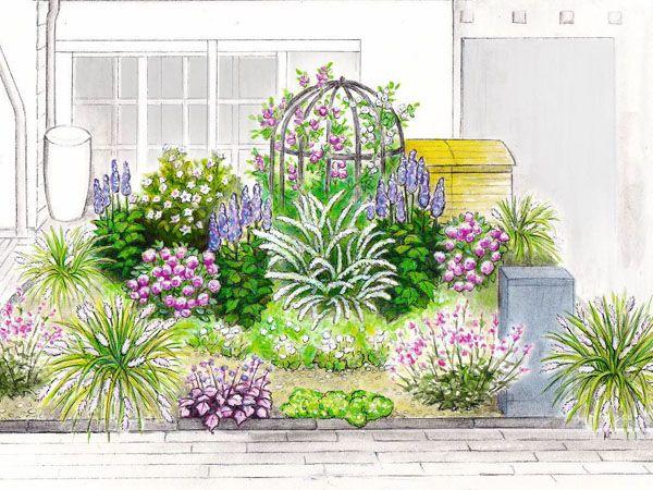 Ideen Für Den Reihenhaus Vorgarten Reihenhaus Schöne Gärten Und