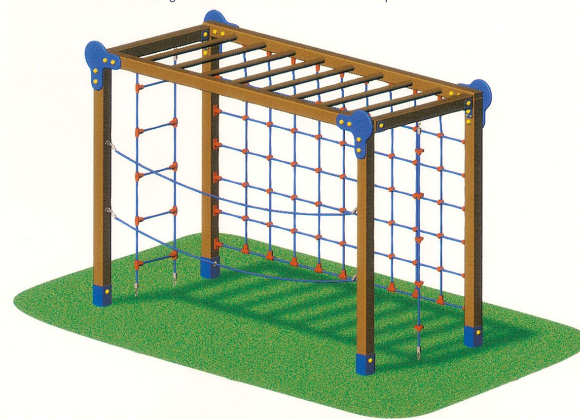 Kids Outdoor playground equipments  Outdoor Wooden Series