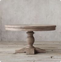 Refinished Dining Table in Weathered Gray | Dining Table ...