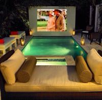 I would totally build this pool setup if I was rich and ...