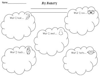 This Graphic Organizer will help students add sensory