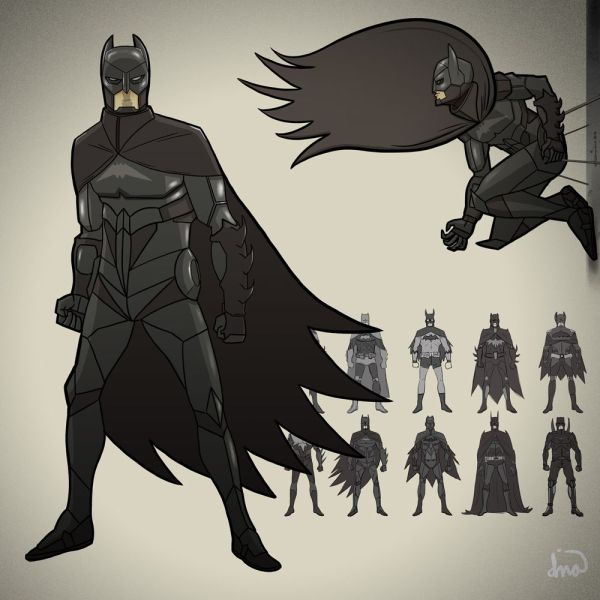 Batman Character -design Part 2 Illuskrate Comic And Dark