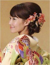 Japanese bridal hair - updo - wedding | Asian ...