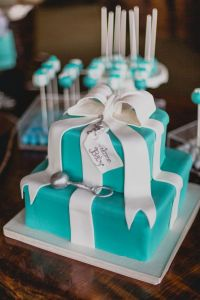 Baby & Co Themed Shower | Babies, Tiffany baby showers and ...