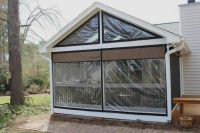 vinyl window coverings for screened in porch | Weather ...