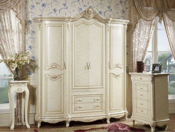 French Provincial Bedroom Furniture For White