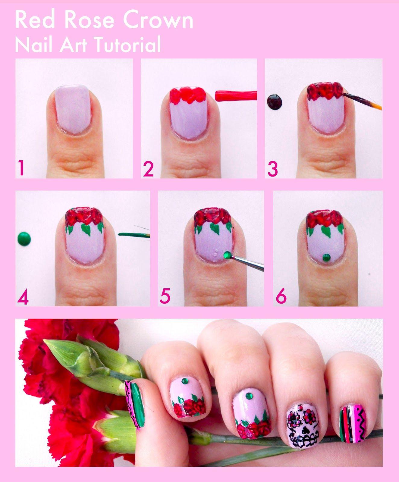 Step By Step Nail Art Google Search Niall's Pinterest Nail
