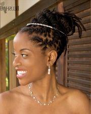 dreadlocks hairstyles weddings