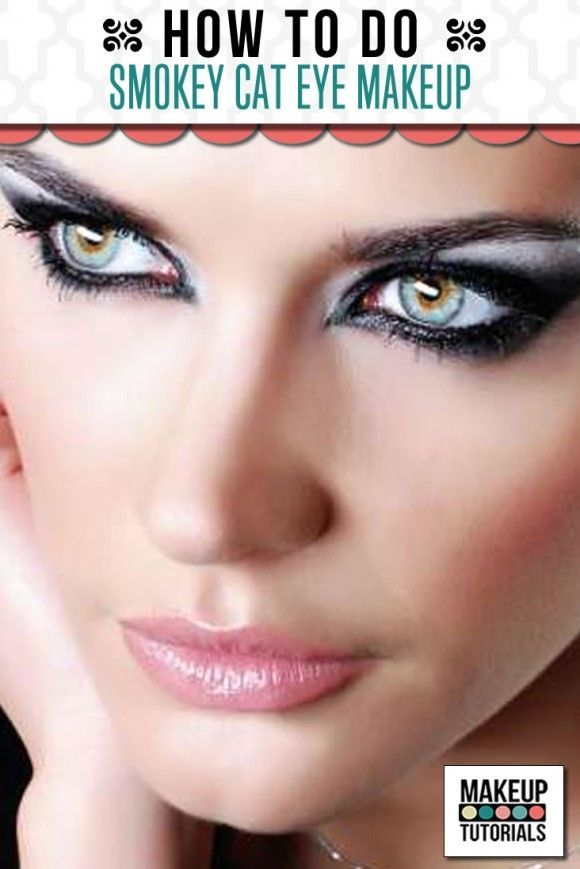 Smokey Cat Eye Makeup Steps | Decorativestyle.org