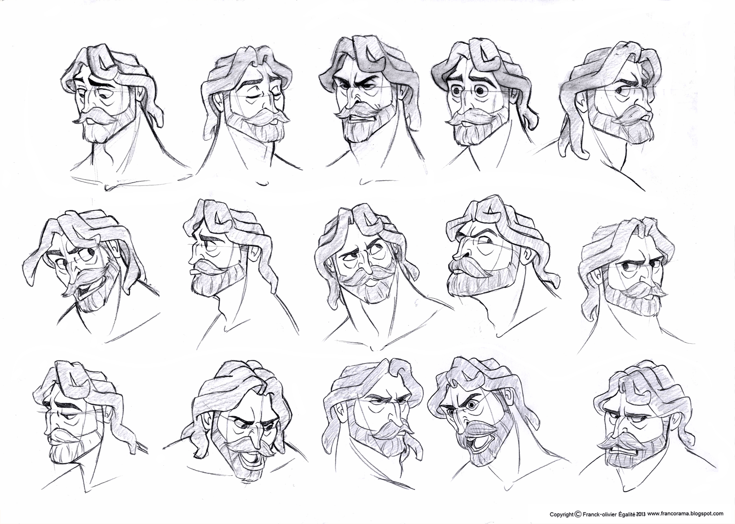 Franco's Blog: Character Design Assignment Tree: Tarzan