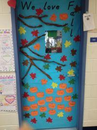 Fall classroom door decoration | My DIY | Pinterest | Fall ...