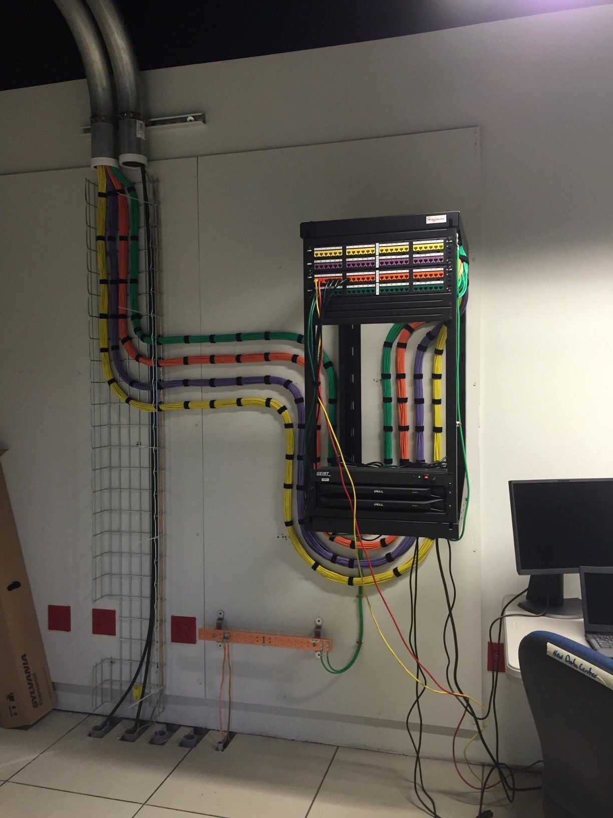 Home Structured Wiring Data Connectivity Patch Cables
