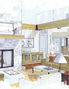 Michelle moreland design sketch up hand rendering also best images about interior on pinterest rh