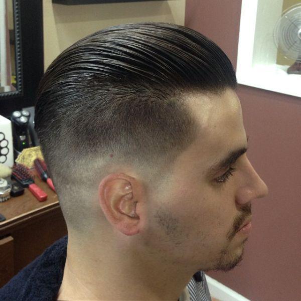 Fade Back Slick Barbershops Pinterest Photos