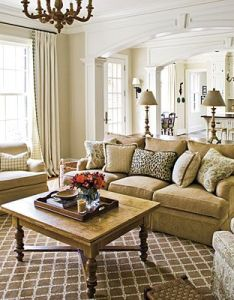 more traditional styled room note the table lamps in symmetrical pair behind also stylish  family friendly decorating nashville southern and formal rh pinterest