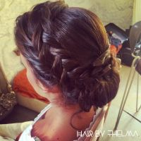 Dark Hair Wedding Hairstyles