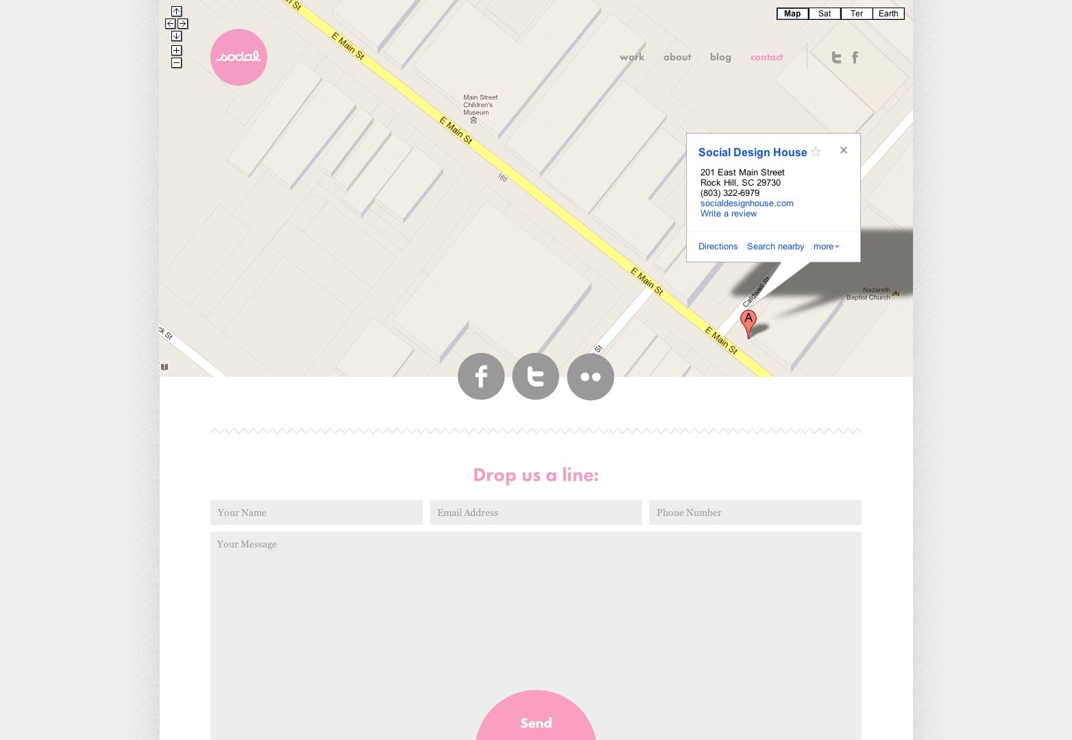 20 Best Designed Contact Pages Social Design House Web Things