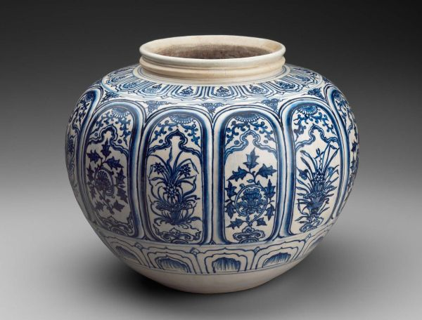 Jar Vietnamese Le Dynasty 15th 16th Century Object Place