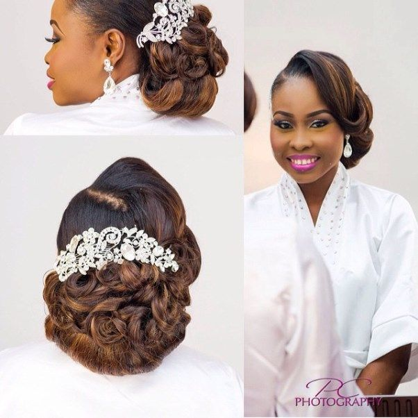Nigerian Wedding Presents 30 Gorgeous Bridal Hairstyles By Charis