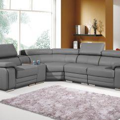 Dakota Sofa Costco Madison Klik Klak Sleeper Grey Bonded Leather Corner Left Hand