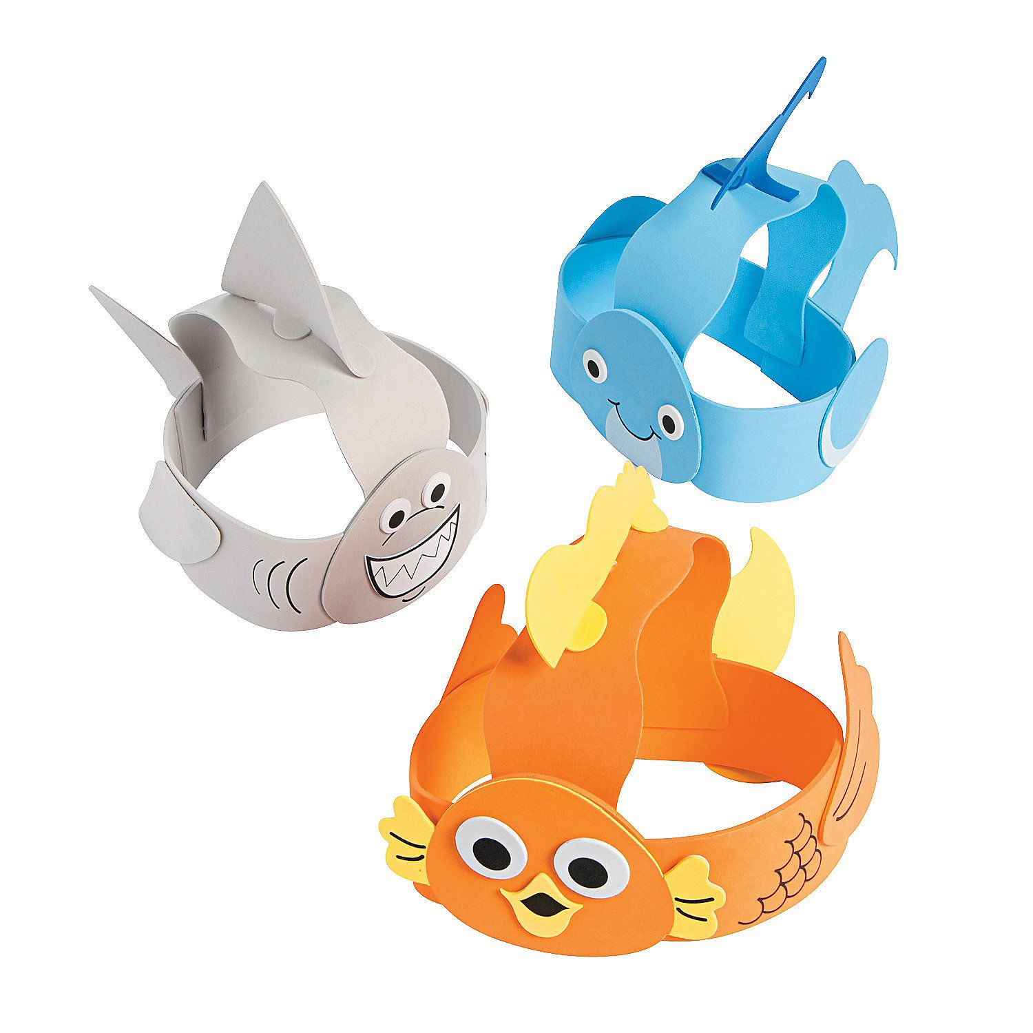 Under The Sea Headband Craft Kit Orientaltrading