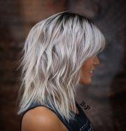 modern shag haircut and style