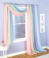 Sheer Window Scarves | For the Home | Pinterest | Window ...