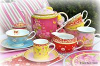 William Maxwell colourful tea cups etc... | TIME FOR TEA ...