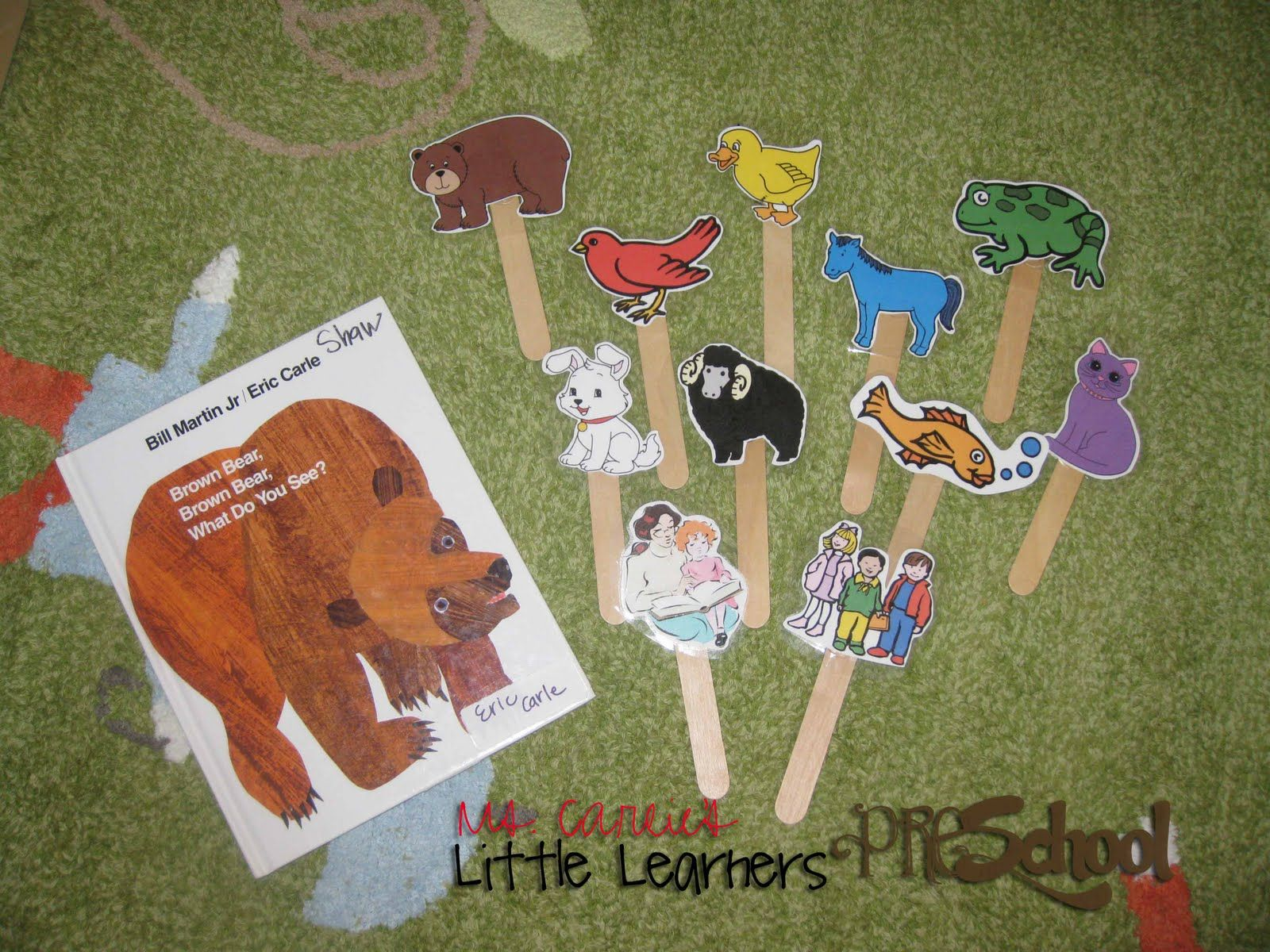 Ms Carlie S Little Learners Preschool Brown Bear Brown