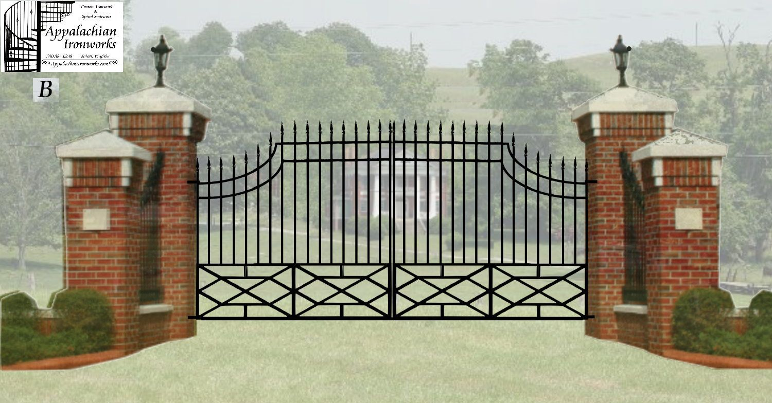 Estate Entry Gates Digital Estimate Drawings For Massive Estate